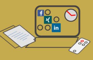 Social Media, LinkedIn, Xing